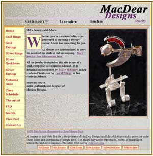 MacDear Designs (Click to go to web site)